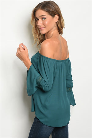 Off the Shoulder blouse (3 colors)
