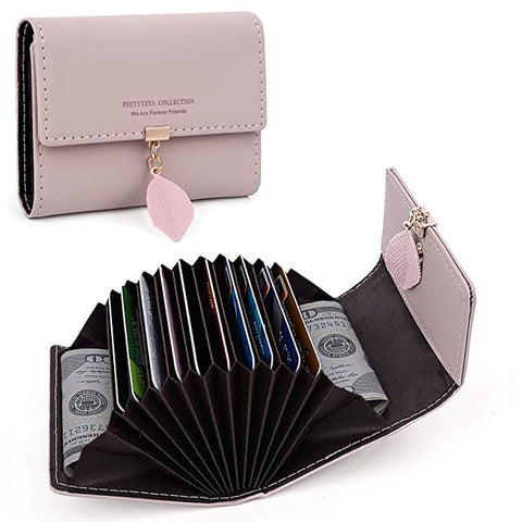 Women's Mini Compact Card Wallet