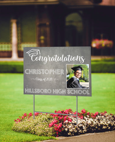 Personalized Graduation Yard Signs