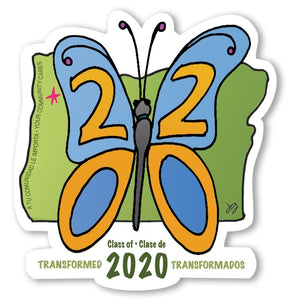 (STICKER ONLY) Class of 2020 Community Commemorative Art Project Sticker