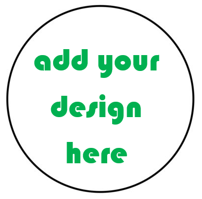 CUSTOM ROUND- CREATE YOUR OWN Sticker