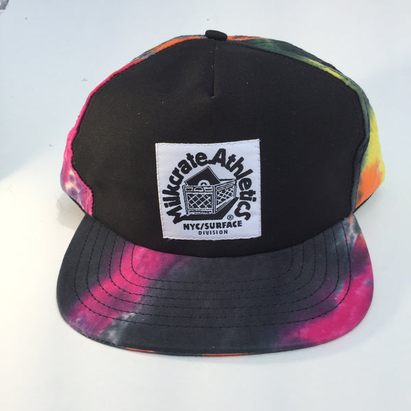 Black Tie Dye Custom Snap Back