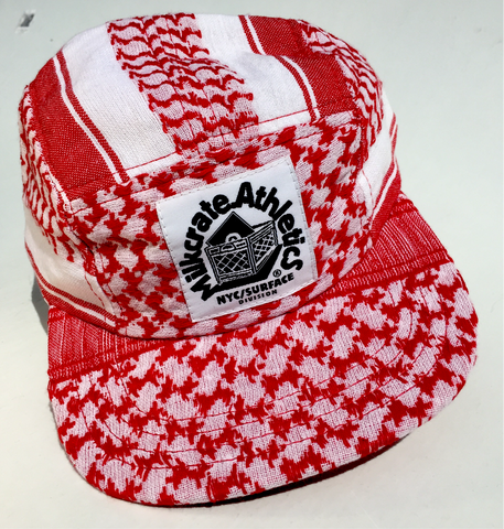 PLO Style snap back camp hat