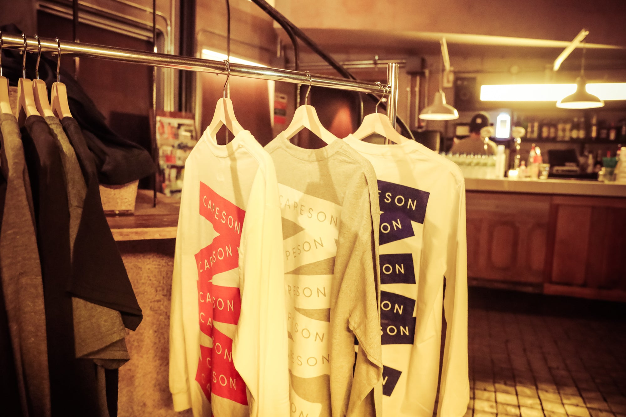 "CAPESON ""STICKERS"" LONG TEE SHIRT入荷!"