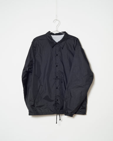 "CAPESON COACH JACKET ""CALIGRAPHY"" (BLACK)"