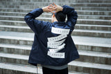 "CAPESON COACH JACKET ""STICKERS"" (NAVY)"