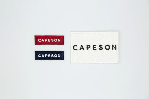 CAPESON LOGO PATCHES SET