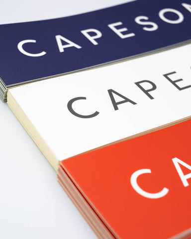 CAPESON BOX LOGO STICKER AW2018
