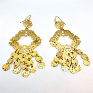 Boho Gold Earrings