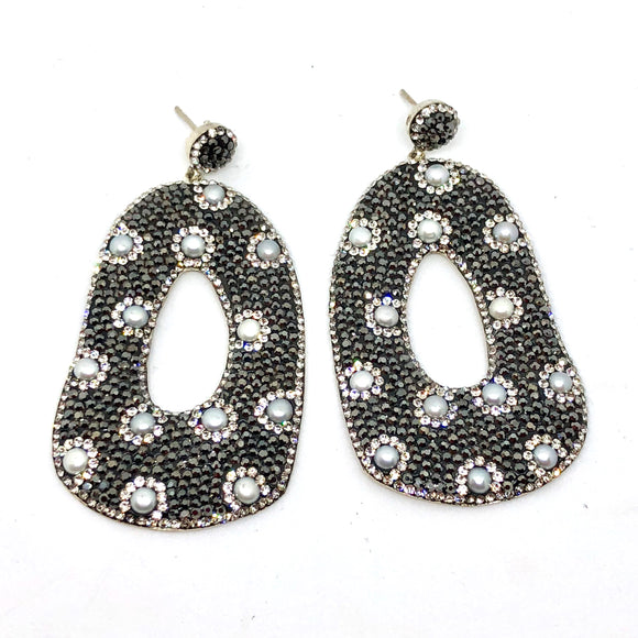 Pearl Spotty Earrings