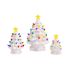 Nostalgic Tree Set - White