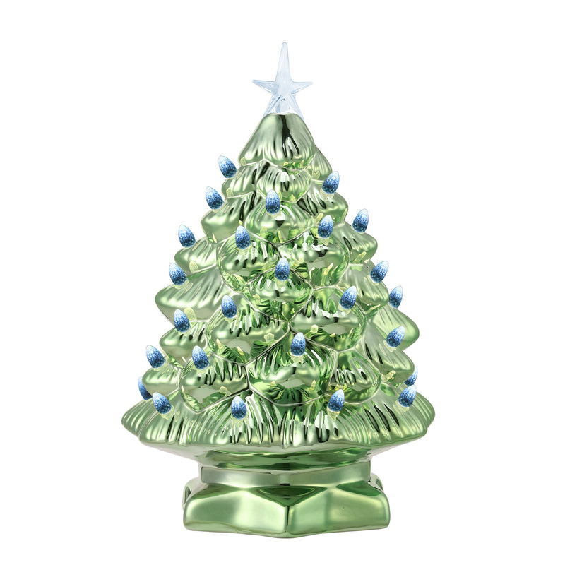 "12"" Color Morphing Nostalgic Tree - Green"