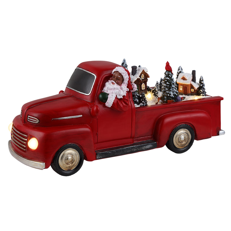 "10.5"" Animated Red Truck"