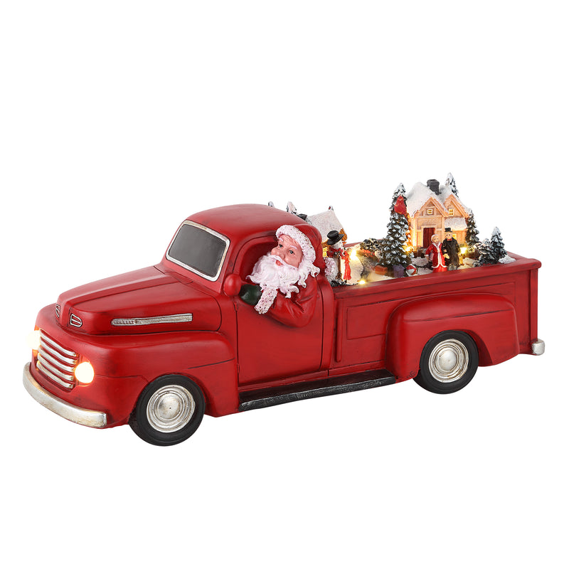"14"" Animated Red Truck"