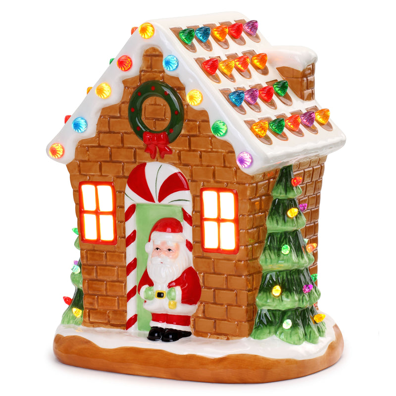 "Nostalgic 12"" Gingerbread House"