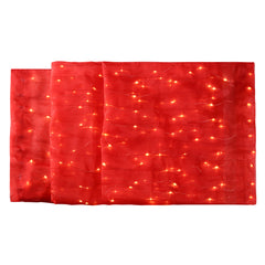7' Illuminated Red Table Runner