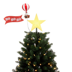 Animated Tree Topper - Biplane