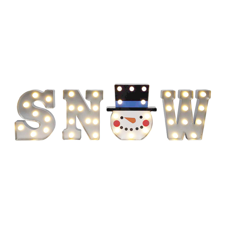 Indoor Marquee Letters - SNOW