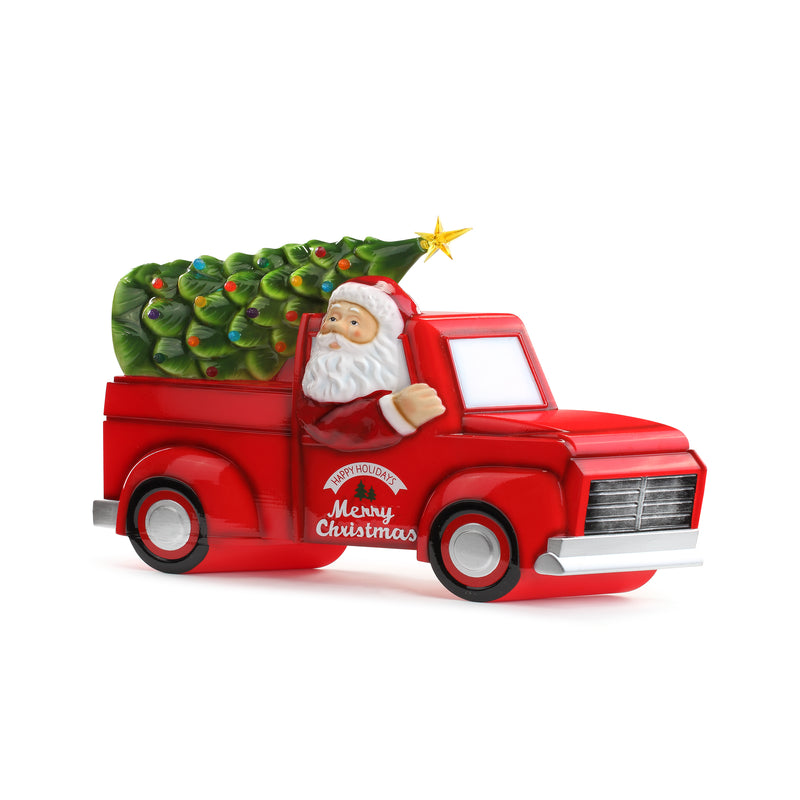Blow Mold Truck with Tree