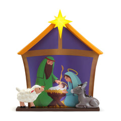 Nativity Blow Mold