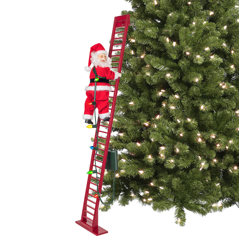 Indoor/Outdoor Deluxe Super Climbing Santa