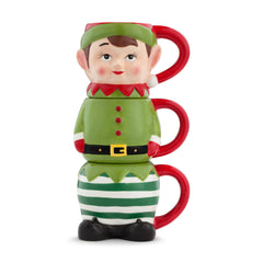 Stacking Elf Mugs