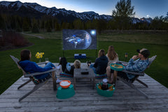 Complete Outdoor Home Theater