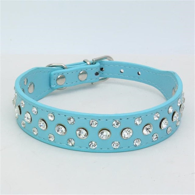 Small Cats Dogs Collars Rhinestone Personalized Accessories For Pet Product Collars