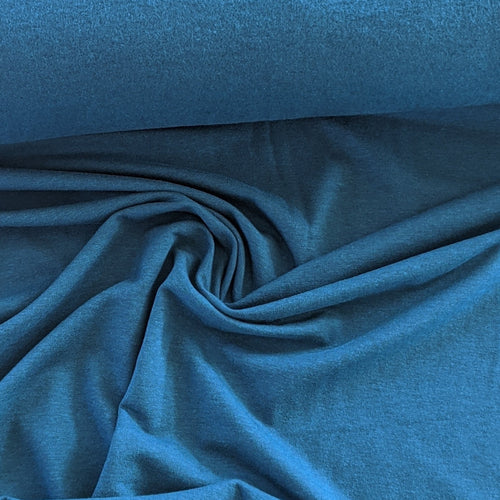 Lyocell (TENCEL™) / Organic Cotton Stretch Fleece - 1/2 meter - Moroccan