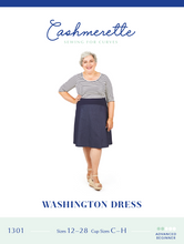 Load image into Gallery viewer, WASHINGTON DRESS - PAPER PATTERN