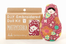 Load image into Gallery viewer, MATRYOSHKA - EMBROIDERY KIT