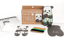 Load image into Gallery viewer, PANDA - EMBROIDERY KIT