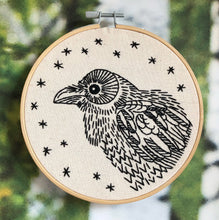 Load image into Gallery viewer, NEW! NEVERMORE - COMPLETE EMBROIDERY KIT