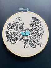 Load image into Gallery viewer, LOVE NEST - COMPLETE EMBROIDERY KIT