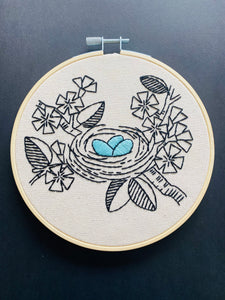 LOVE NEST - COMPLETE EMBROIDERY KIT