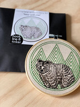 Load image into Gallery viewer, BEAR WITH ME - COMPLETE EMBROIDERY KIT