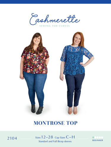 MONTROSE TOP - PAPER PATTERN