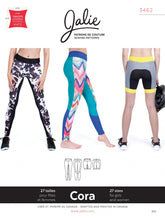 Load image into Gallery viewer, CORA TIGHTS & SHORTS - PAPER PATTERN