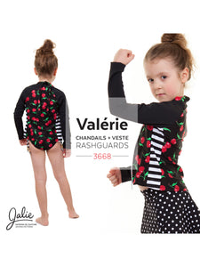 VALERIE SWIM SHIRTS / RASHGUARDS - PAPER PATTERN