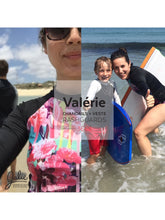 Load image into Gallery viewer, VALERIE SWIM SHIRTS / RASHGUARDS - PAPER PATTERN