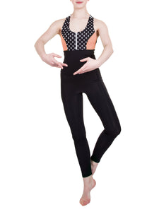 CELESTE OPEN-BACK UNITARDS - PAPER PATTERN