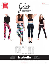 Load image into Gallery viewer, ISABELLE LEGGINGS & SKATING PANTS- PAPER PATTERN
