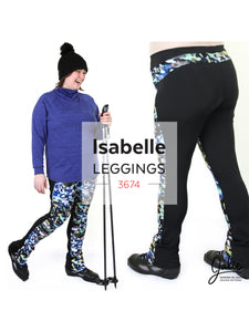 ISABELLE LEGGINGS & SKATING PANTS- PAPER PATTERN