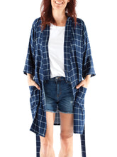 Load image into Gallery viewer, MELANIE KIMONO ROBE - PAPER PATTERN