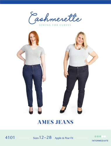 AMES JEANS - PAPER PATTERN