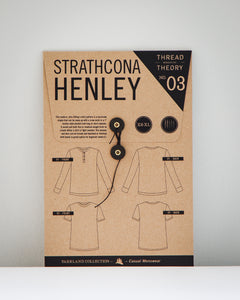 STRATHCONA HENLEY - PAPER PATTERN