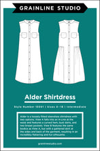 Load image into Gallery viewer, ALDER SHIRTDRESS - PAPER PATTERN