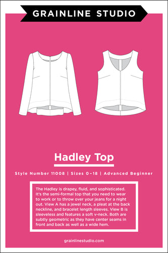 HADLEY TOP - PAPER PATTERN