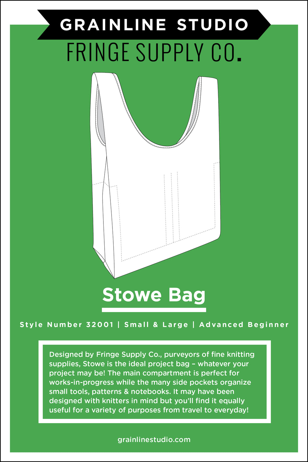 STOWE BAG - PAPER PATTERN