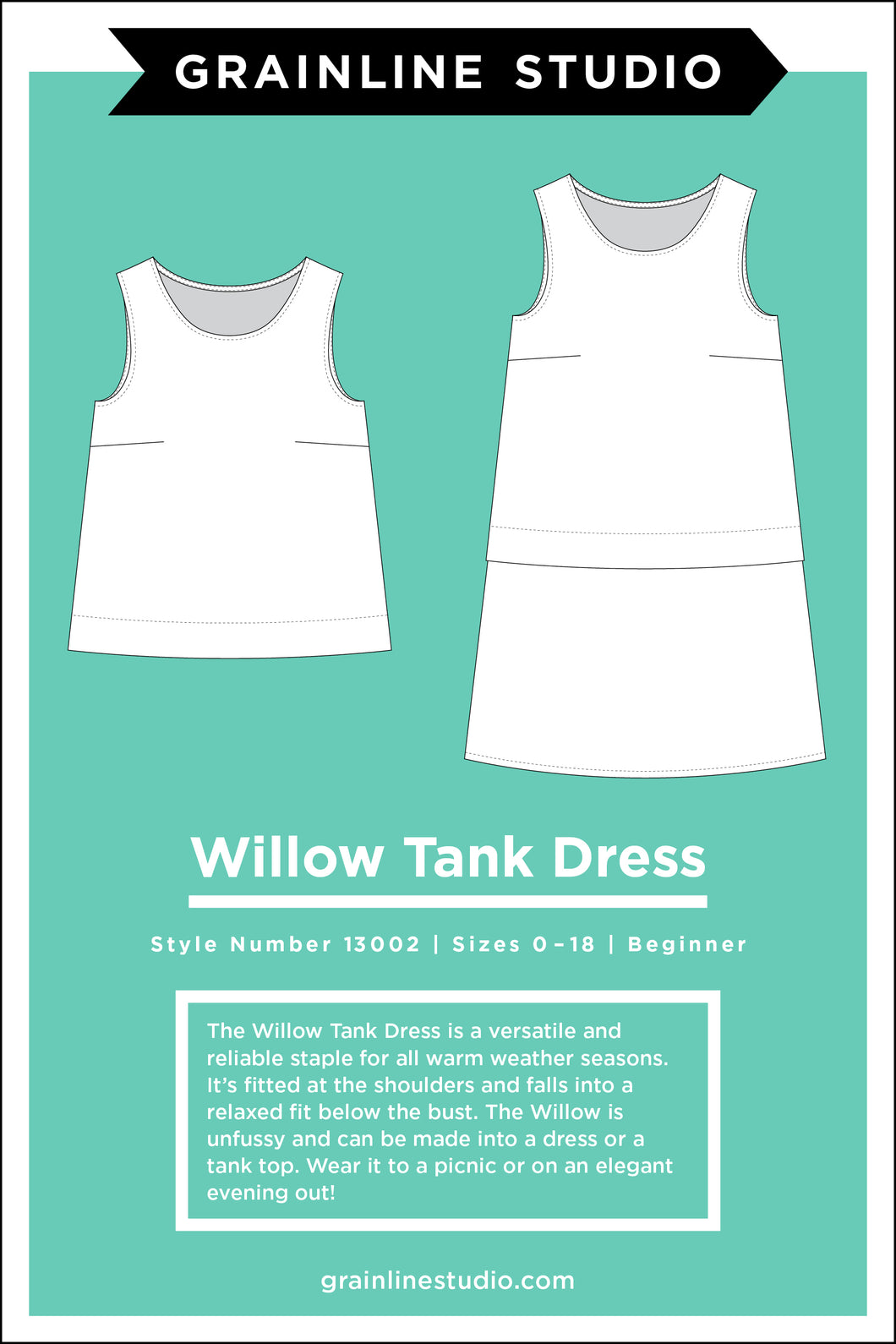 WILLOW TANK - PAPER PATTERN